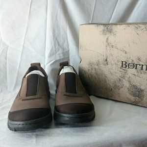 Born Foster Tan and Brown Slip On
